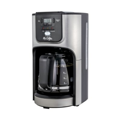 Mr. Coffee®12-Cup Programmable Coffeemaker with Rapid Brew System