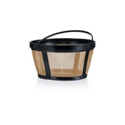 Mr. Coffee Larger Gold Tone Reusable Coffee Filter