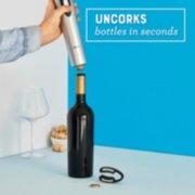 wine opener uncorks bottles in seconds image number 3