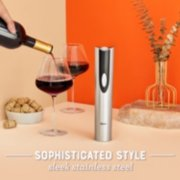 wine openers sophisticated style with its sleek stainless steel image number 6