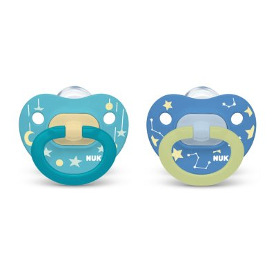 Glow-in-the-Dark Orthodontic Pacifiers