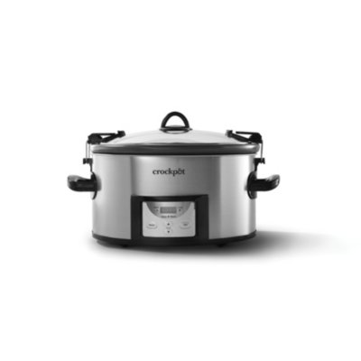 Crockpot™ 7-Qt Easy-to-Clean Cook & Carry™ Slow Cooker, Programmable Slow Cooker