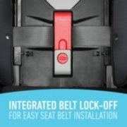 4 ever DLX integrated belt lock off for easy seat belt installation image number 4