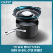 classic cookware prevents messy spills with no boil over insert image number 1