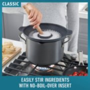 Calphalon Classic™ Hard-Anodized Nonstick 10-Piece Cookware Set with No-Boil-Over Inserts image number 2