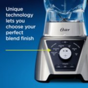 Oster Pro® Blender with Texture Select Settings, 2 Blend-N-Go Cups and Tritan Jar, Brushed Nickel image number 1