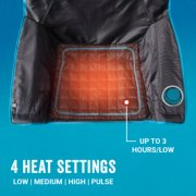 heated camp chair has 4 heat settings image number 2