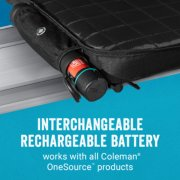 onesource heated stadium seat with interchangeable rechargeable battery image number 1