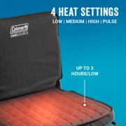 onesource heated stadium seat with 4 heat settings and up to 3 hours on low image number 2