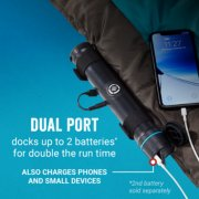 heated sleeping bag with dual charging port image number 3