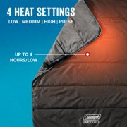 heated blanket with 2 heat settings and up to a 4 hour run time on low setting image number 2