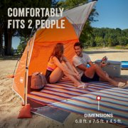 sky shade comfortably fits 2 people image number 6