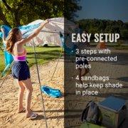 easy setup beach shade image number 3