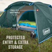 tent with full-fly vestibule for protected entry and extra storage image number 2