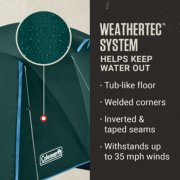 weathertec system helps keep water out with a tub-like floor, welded corners, inverted and taped seams and withstands up to 35 mph winds image number 3