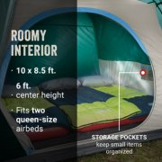 Skydome™ 6-Person Camping Tent with Full-Fly Vestibule, Evergreen image number 5