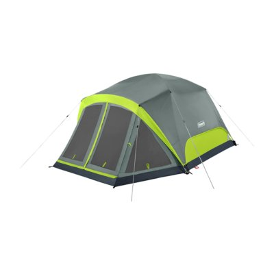 Skydome™ 4-Person Camping Tent with Screen Room, Rock Grey