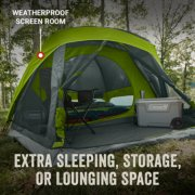 skydome tent with weatherproof screen room for extra space image number 2