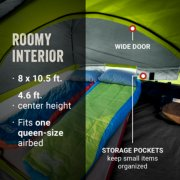 sky dome roomy interior with wide door and storage pockets image number 5