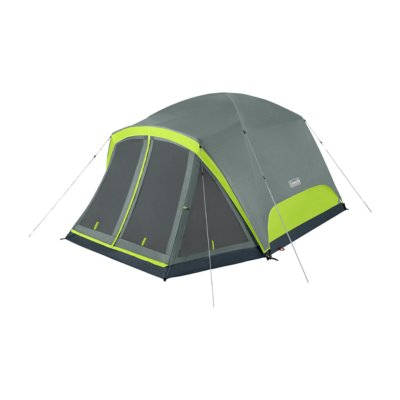 Skydome™ 6-Person Camping Tent with Screen Room, Rock Grey