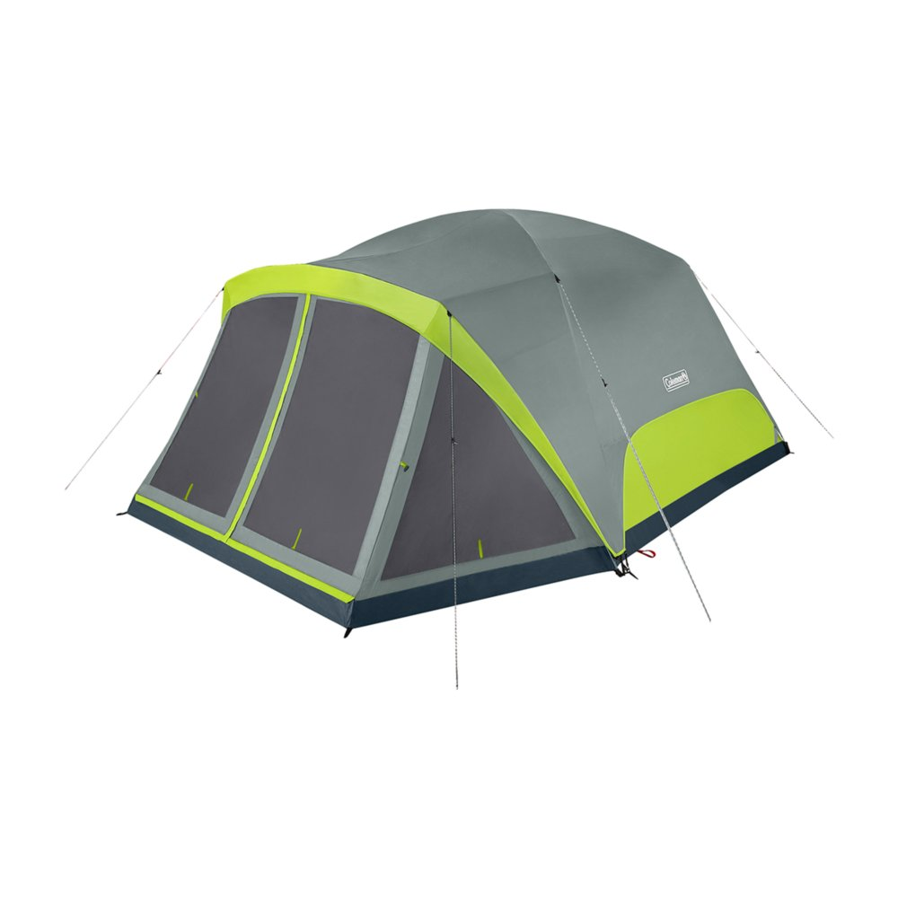 Skydome 8 Person Camping Tent With Screen Room Rock Grey Coleman