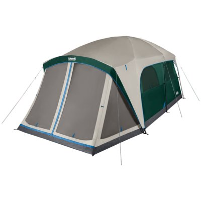 Skylodge™ 12-Person Camping Tent With Screen Room, Evergreen
