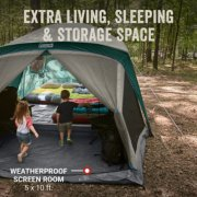 Skylodge™ 12-Person Camping Tent With Screen Room, Evergreen image number 2