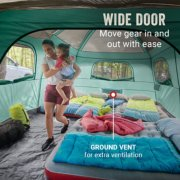 Skylodge™ 12-Person Camping Tent With Screen Room, Evergreen image number 4