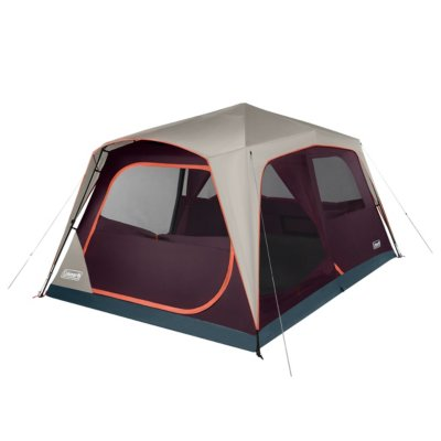 Skylodge™ 10-Person Instant Camping Tent, Blackberry