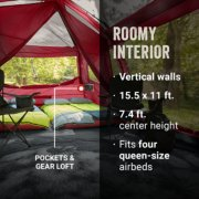 skylodge tent has a roomy interior image number 4