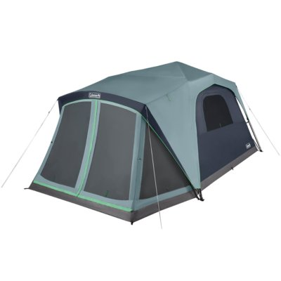 Skylodge™ 10-Person Instant Camping Tent With Screen Room, Blue Nights
