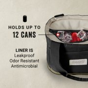 holds up to 12 cans liner is leakproof odor resistant antimicrobial image number 1