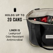 tote holds up to 20 cans and its liner is leakproof odor resistant and antimicrobial image number 1