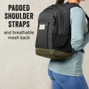28 can soft cooler backpack's padded shoulder straps image number 2