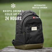 backpack that keeps drinks cold up to 24 hours and has an integrated bottle opener image number 5