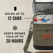 soft cooer holds up to 12 cans and keeps drinks cold up to 20 hours image number 2