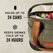 soft cooler holds up to 24 cans and keeps drinks cold up to 24 hours image number 2