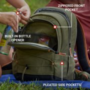 soft cooler backpack displaying features image number 4