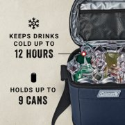 keeps drinks cold up to 12 hours holds up to 9 cans image number 4