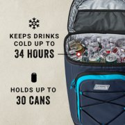 soft cooler keeps drinks cold up to 34 hours and holds up to 30 cans image number 4