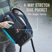 soft cooler with 4 way stretch side pocket fits larger items image number 5