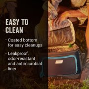 easy to clean with a coated bottom and leakproof, odor-resistant, and antimicrobial liner image number 3