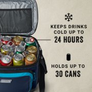 keeps drinks cold up to 24 hours and holds up to 30 cans image number 4
