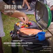 excursion road trip grill has 285 square inch cooking area image number 2