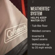 skylodge instant tents weather tech system helps keep water out image number 3