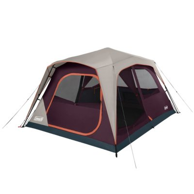 Skylodge™ 8-Person Instant Camping Tent, Blackberry