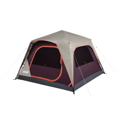 Skylodge™ 4-Person Instant Camping Tent, Blackberry