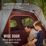 Skylodge™ 4-Person Instant Camping Tent, Blackberry image number 3
