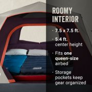 Skylodge™ 4-Person Instant Camping Tent, Blackberry image number 4