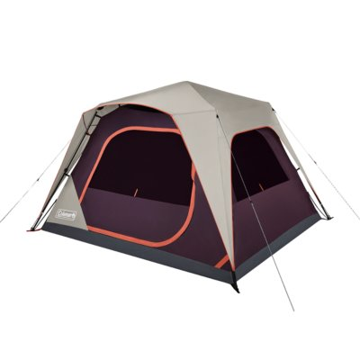 Skylodge™ 6-Person Instant Camping Tent, Blackberry